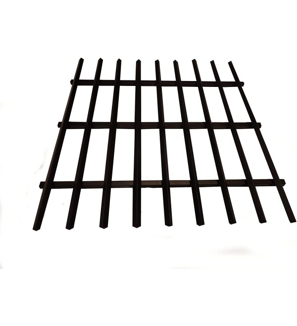 FIRE Pit Grate Square Several Measures (Flat) (Medium 28'' x 28'')