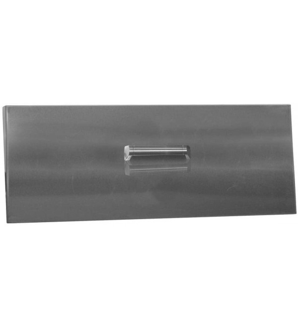 Firegear Linear Stainless Steel Burner Cover with Brushed Finish (LID-LOF36LT), 38.75-Inch