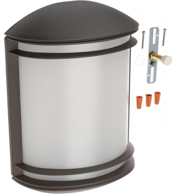 Lithonia Lighting OLCS 8 DDB M4 LED Outdoor Wall Sconce, Bronze, 3.75x13.50x8.75