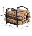 Firewood Log Holder / Rack for indoor and Outdoor Firewood Storage Beautiful design, - made in Canada