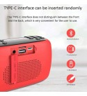 YGQYX Bluetooth Speaker Portable Wireless Speaker with Bluetooth -Loud Audio for Phone Calls- Small Waterproof and Dustproof Travel Music Speakers (Color : A)