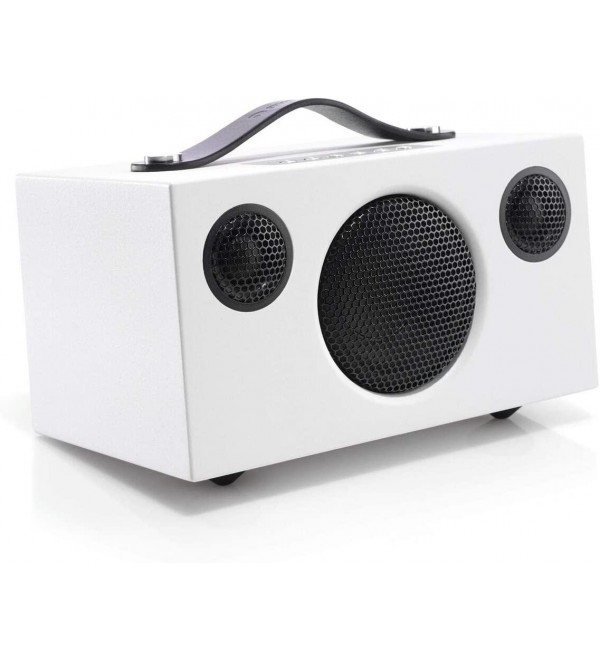 Audio Pro Addon T3 Portable Bluetooth Wireless Speakers w/Battery for Computers, Laptop, Desktop, Cellphone & Tablet - White