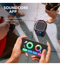 Soundcore Mega Bluetooth Speaker, Speaker with 18H Playtime, BassUp Technology, Huge 101dB Sound, LED Lights, Soundcore App, IPX7 Waterproof, Wireless Speaker with Microphone, Guitar Input