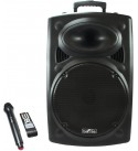 beFree Sound 15 Inch Bluetooth Powered P BFS-6550 Portable PA Party Speaker